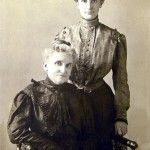 Two Victorian era Irish women